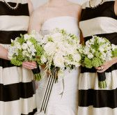 Black and white strieps | Shannon Leahy Events