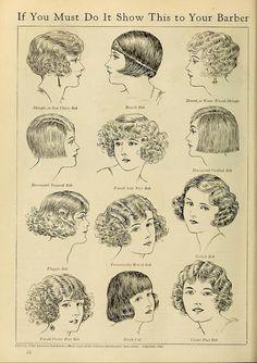 1920's hair styles
