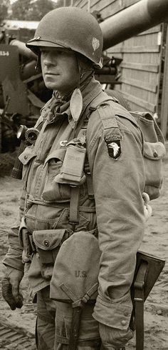 All American soldier - 101st Airborne Division