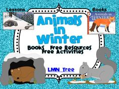 LMN Tree: Animals in Winter: Great Books, Free Resources and Activities classroom, books, idea, animals, januari, free resourc, lmn tree, preschool, free activ