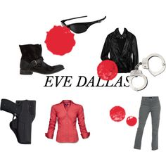 Eve Dallas JD Robb In Death Series, created by tracey-white-miller on Polyvore