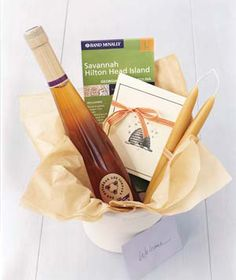 Real Simple's Wedding Welcome Basket Ideas