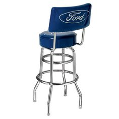Great Ford Bar Stool with a back for $135.00.  This stool is American Made.