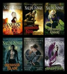 Guild Hunter Series, Nalini Singh