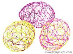 String Easter Egg craft