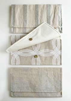 Simple sewing project - beautiful clutch!