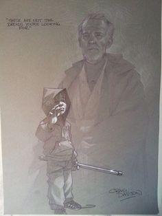 Star Wars: In A Backyard Far Far Away - Obi-Wan Kenboi // Craig Davison
