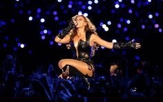 Black Leather Leotard / Catsuit worn By Beyonce Knowles. Buy your Catsuit for dance from DCUK Dance Clothes.