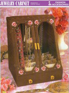 Jewelry Cabinet Plastic Canvas Pattern by needlecraftsupershop, $4.50