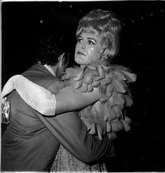 Two men dancing at a drag ball, N.Y.C. 1970, photographed by Diane Arbus.