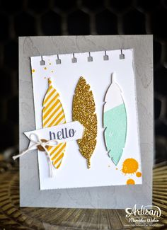 Stampin' Up! Feathers