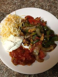 The Low Carb Diet: Low Carb Chicken Fajitas