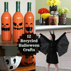 12 Eco-Friendly Halloween Craft Projects - great ideas!