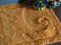 Free Knitting Pattern - Dishcloths & Washcloths : Witch's Shoe Dishcloth