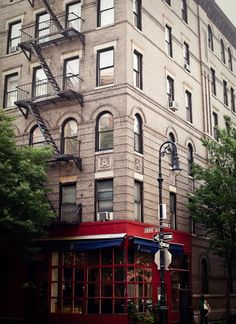"""Friends"" apartment block in Greenwich Village"