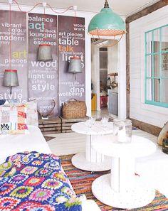 interior design, recycled decor, breakfast nooks, dream, bright colors living room