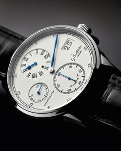 Glashutte Original Senator Chronometer Regulator White Gold
