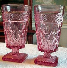 Depression Era Elegant Glass- most popular in the 1930's and 1940's