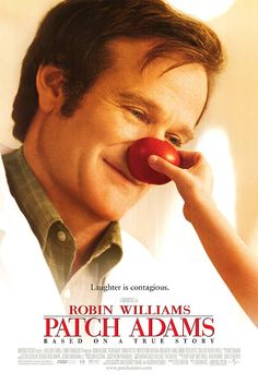 film, 1998, patch adam, cinema, tom shadyac, book, robin williams, favorit movi, posters