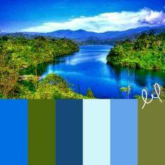 Beautiful view palette
