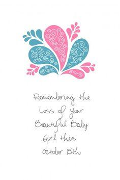 October 15th Pregnancy & Infant Loss Awareness #pregnancy #babies #baby #loss #awareness #oct #infant