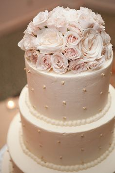 18. A Traditional or non traditional cake #modcloth #wedding Traditional.