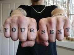 Misspelled tattoos. Hilarious! Click into it, check them all out!