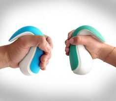 Use Frebble To Hold Hands With Loved Ones Electronically Over The Internet.