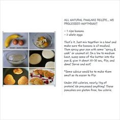 All Natural Pancake recipe