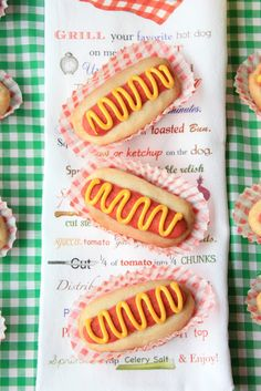 Munchkin Munchies: Hot Dog Cookies