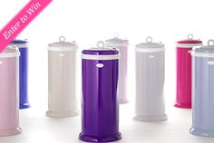 One Project Nursery reader will win an Ubbi Diaper Pail in their choice of color. #baby #giveaway #win