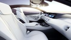 """""""Sensual clarity"""" is the phrase being used by Mercedes-Benz to describe their Concept S-Class Coupé with a space-age interior and a muscular exterior."""