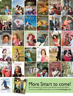 Smart magazine covers. To sign up for a FREE subscription, visit www.smartmagpa.com