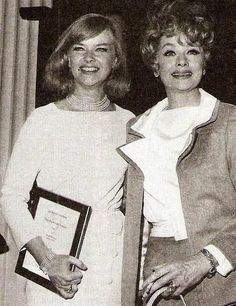 Lucille Ball And Anne Francis