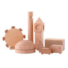 The Royal Nursery, Prince George, London, London wooden block set