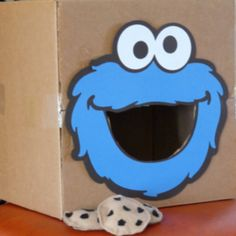 Put the cookie in Cookie Monster's mouth