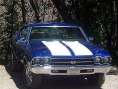 My Dream Car!  69' Chevelle SS 396 big block.