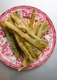 Batter-Fried Scallions Recipe | SAVEUR