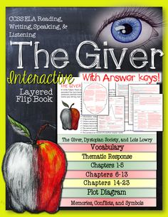 The Giver: Interactive Layered Flip Book ($)