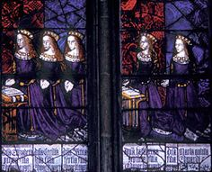 Daughters of Edward IV and Elizabeth Woodville