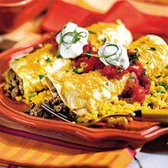 Smothered Enchiladas | MyRecipes.com