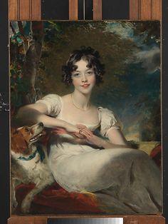 Lady Maria Conyngham (died 1843)  Sir Thomas Lawrence (English, Bristol 1769–1830 London)