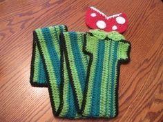 Mario pipe scarf