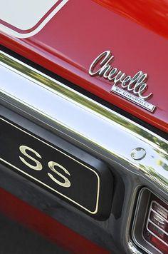 Chevrolet Chevelle SS Emblem
