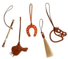 Hermes Equestrian charms.