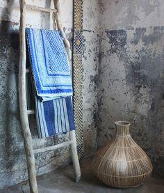 classic chic bath textile Blue and white classic chic