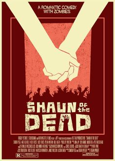 Shaun of the Dead vintage style 5X7 print. $8.00, via Etsy.