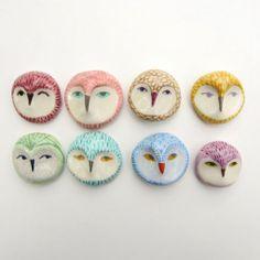 Ceramic owls!