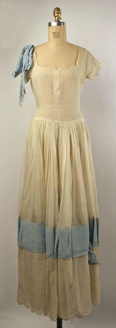 Dress, Evening  Bertha Stern (American)  Date: 1937–39 Culture: American Medium: silk