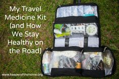 my travel medicine kit post image